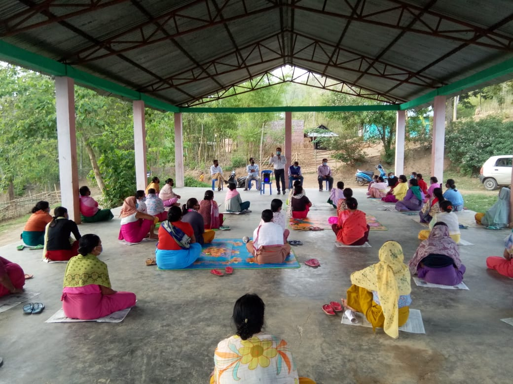 Awareness program on quarantine centre held at Thoubal Khunou