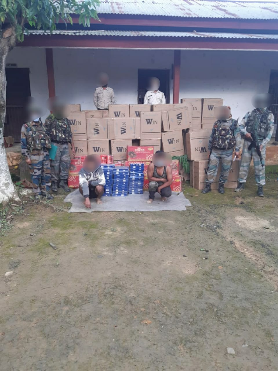 AR troops recover contraband items