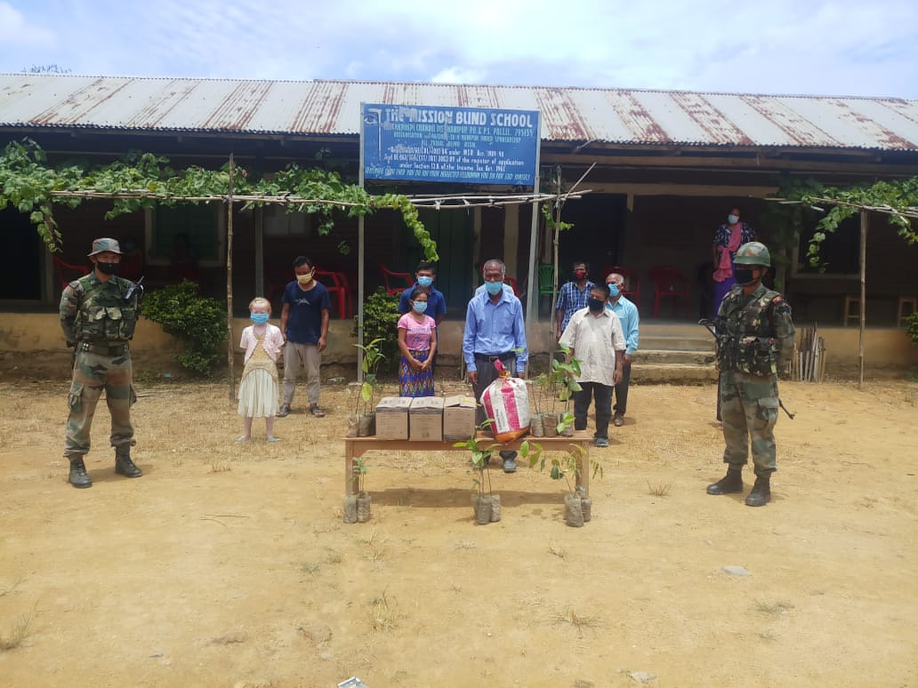 AR provides assistance to The Mission Blind School