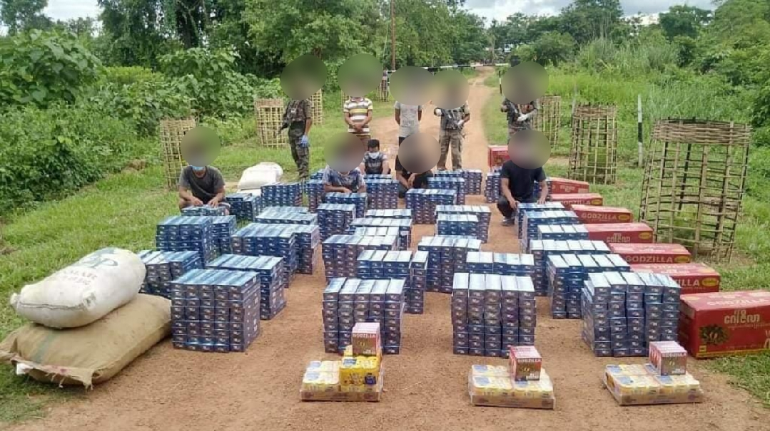 AR seizes illegal foreign cigarettes and contraband items