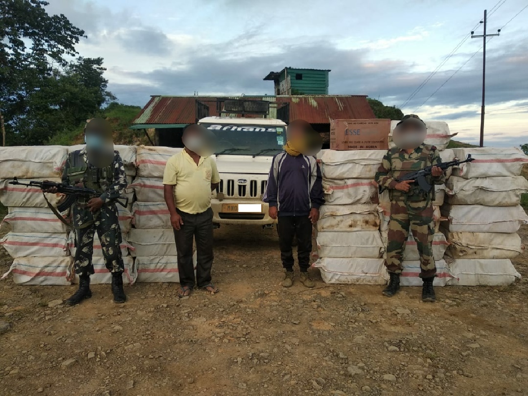 AR recovers contraband items in Tengnoupal district
