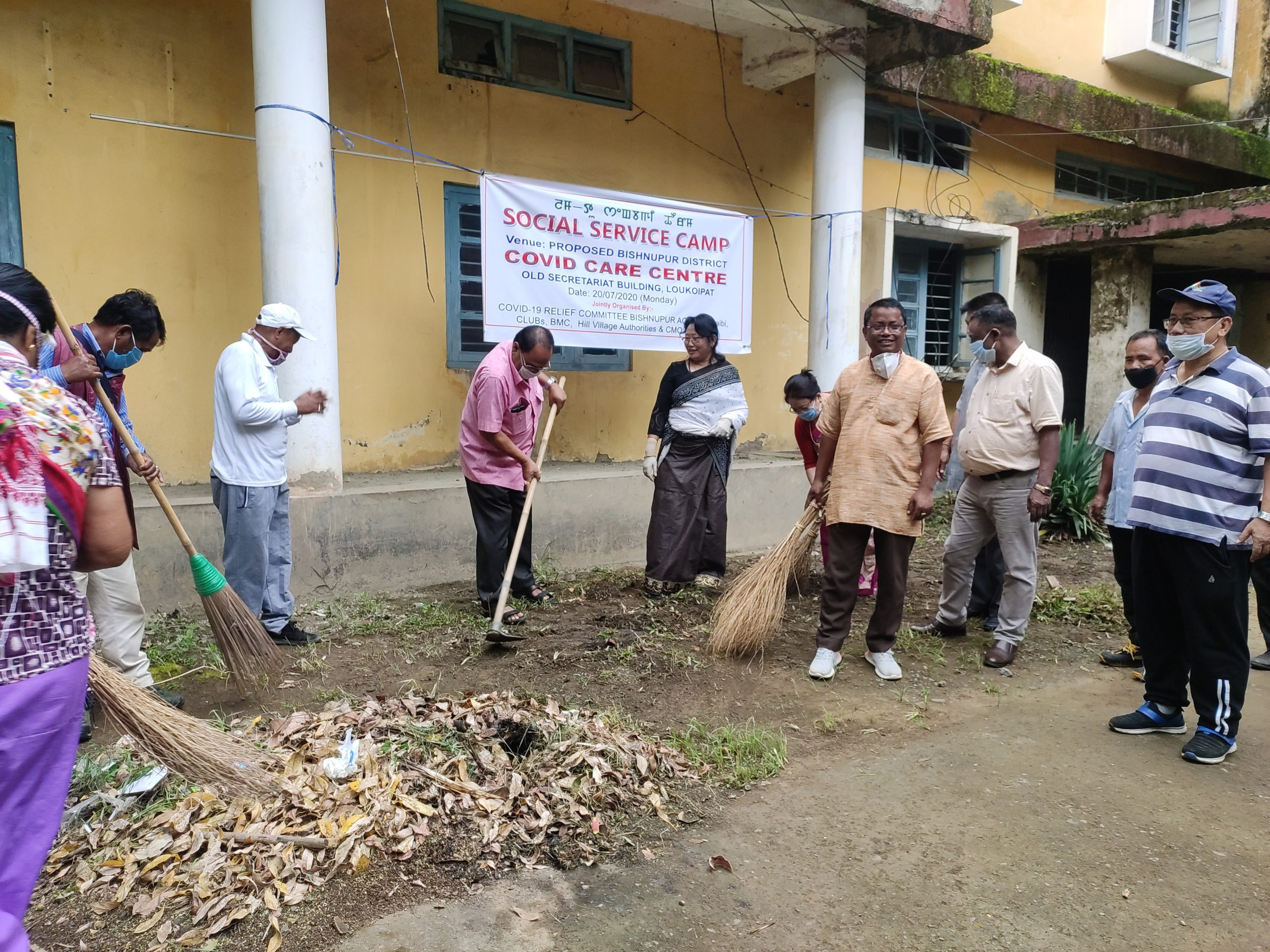 Cleanliness drive conducted, 10 bedded hospital to begin functioning