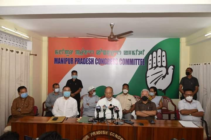 Ibobi dismisses ex-MLA Subhaschandra's allegation, says Cong never forced any BJP MLA to resign