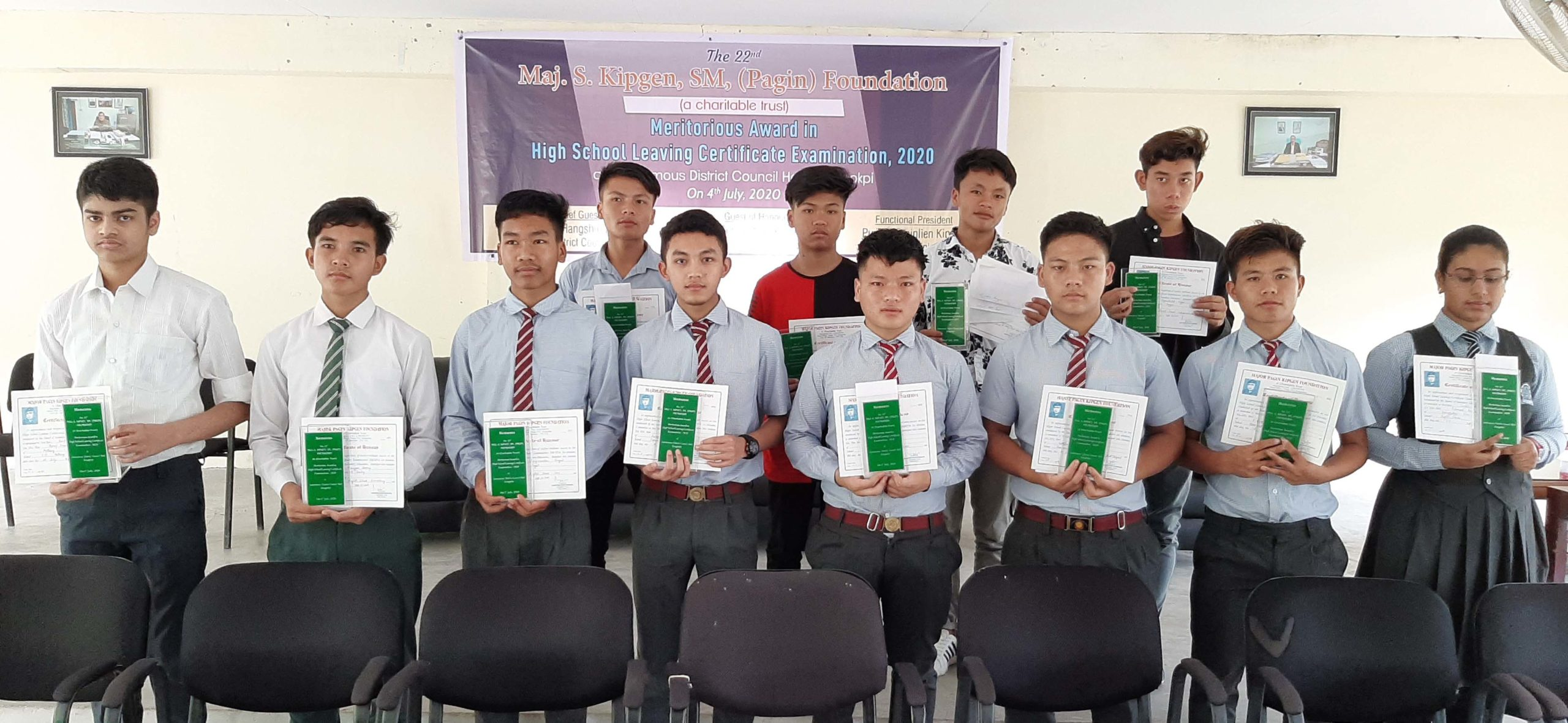 'Dream big, have vision': MPKFCT chairman to meritorious students