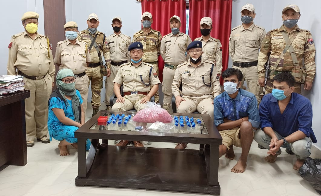 Moreh police team seized drugs worth over Rs. 2 crore