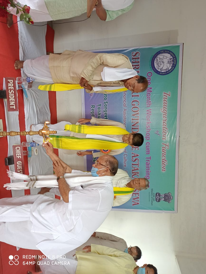 Month-long workshop ok Shri Shri Govindajee Astakal Seva inaugurated