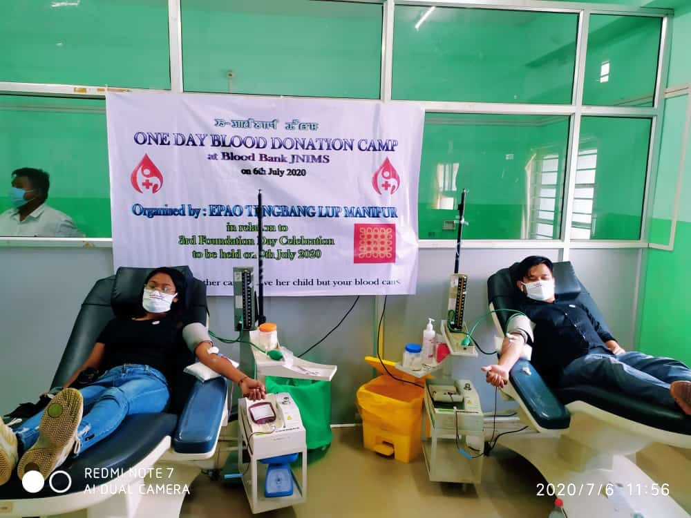 ETLM responds to blood shortages as anniversary gift