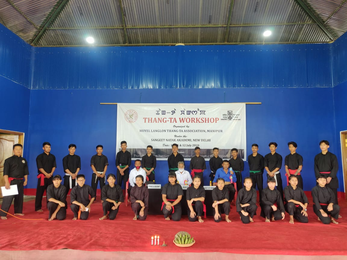 Two-day Thang-Ta Workshop ends