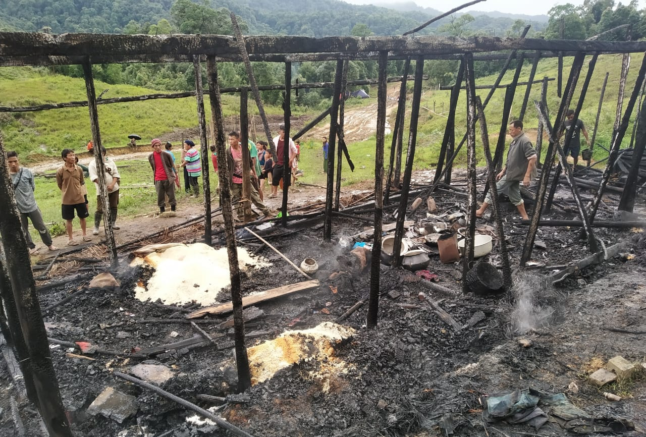 Property worth Rs 80,000 burnt to ashes, no casualties