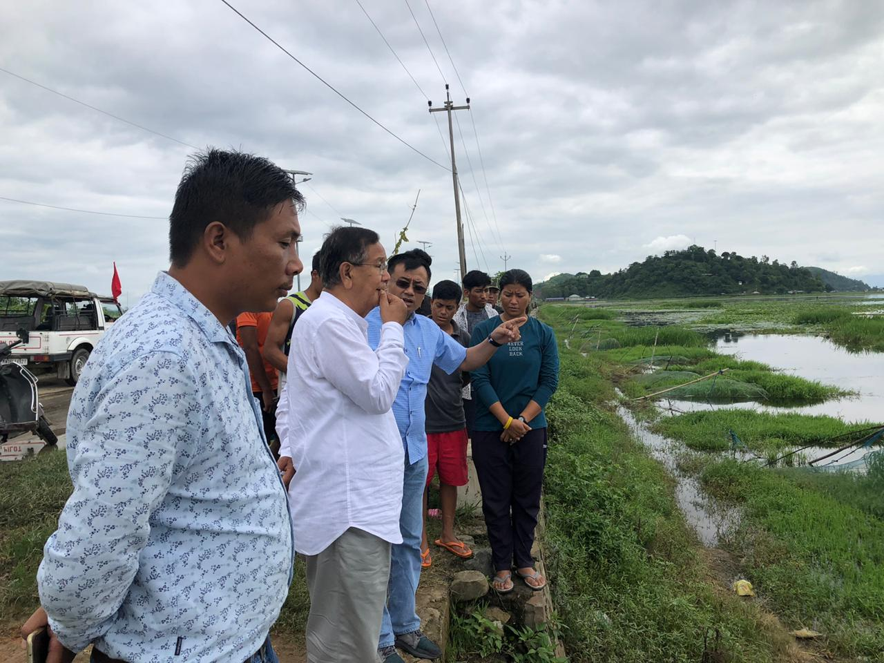 Fishery farm at Takmu not fit anymore: MP RK Ranjan