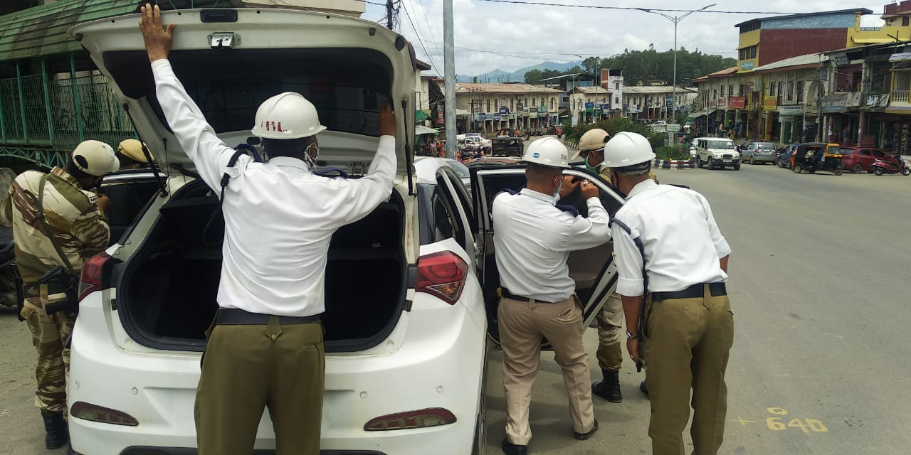 Rs. 60,750 fine collected from lockdown violators