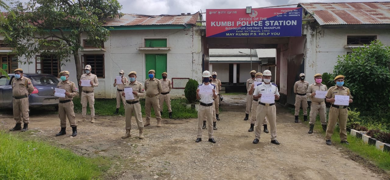 VDF of Kumbi PS stage sit-in protest