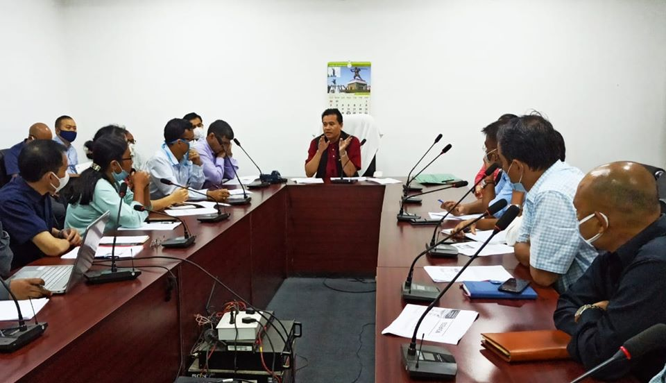 Minister Biswajit reviews implementation of RD&PR schemes