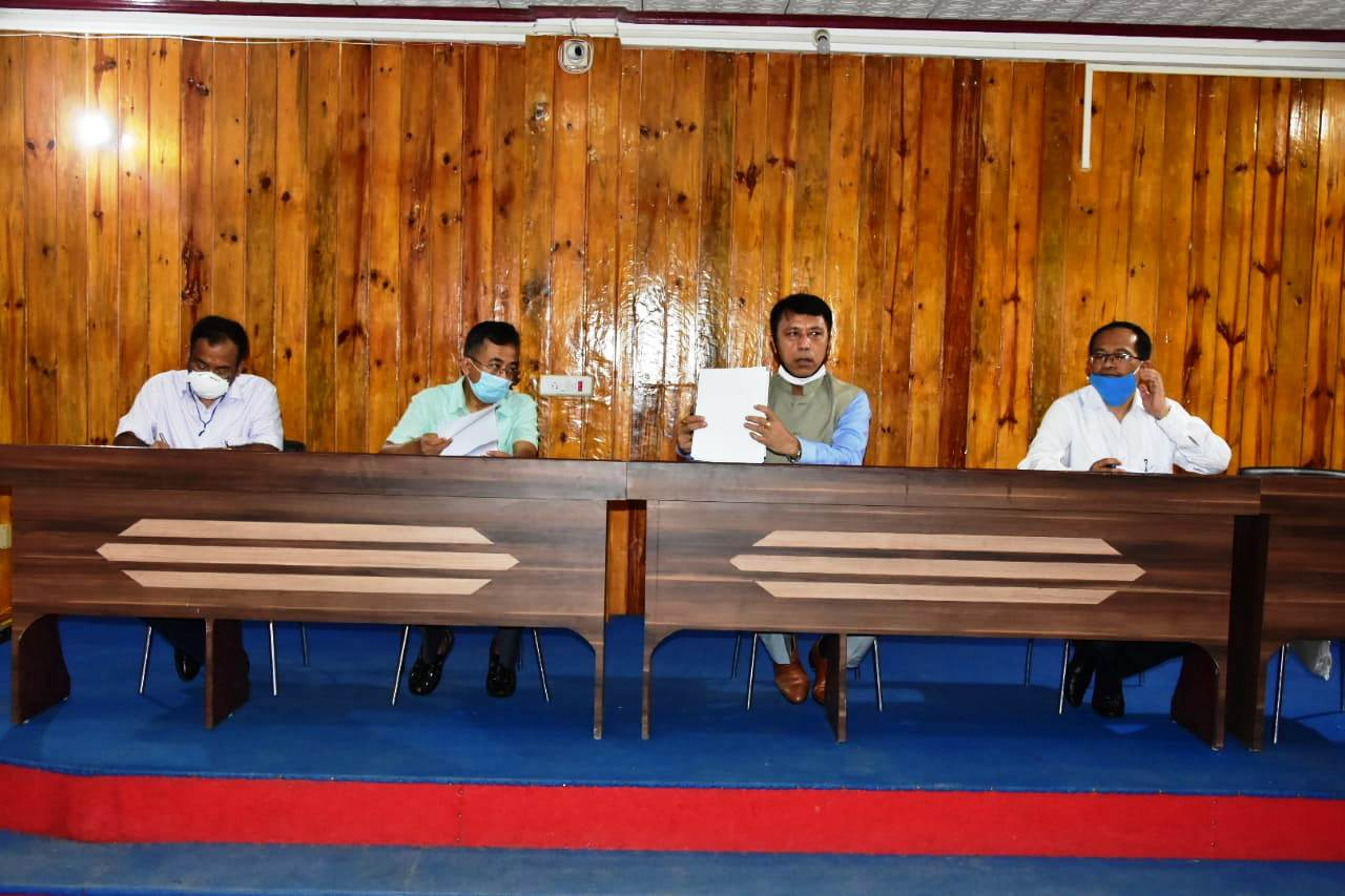 Edn Minister chairs review meeting on work progress for implementation of NEP, 2020