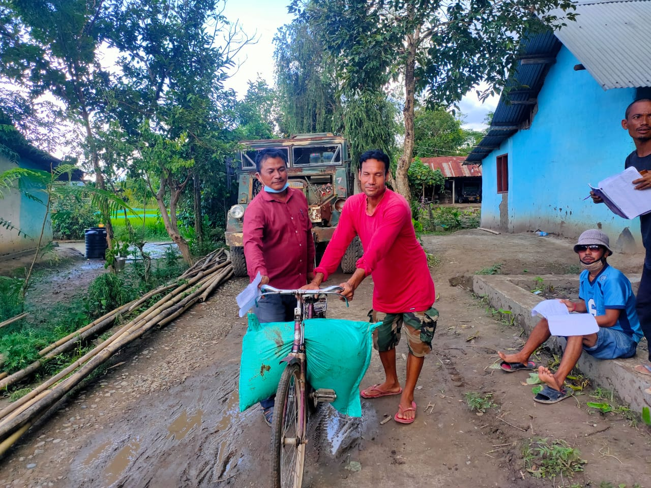 Urea fertilizer distributed to farmers at free of cost