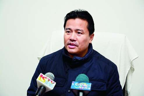 Minister Bishwajit denies disruption to Jiribam gate construction work