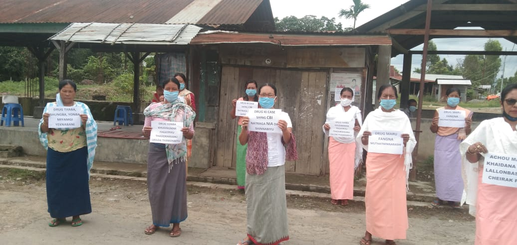 Protest demands early enquiry into drug cases