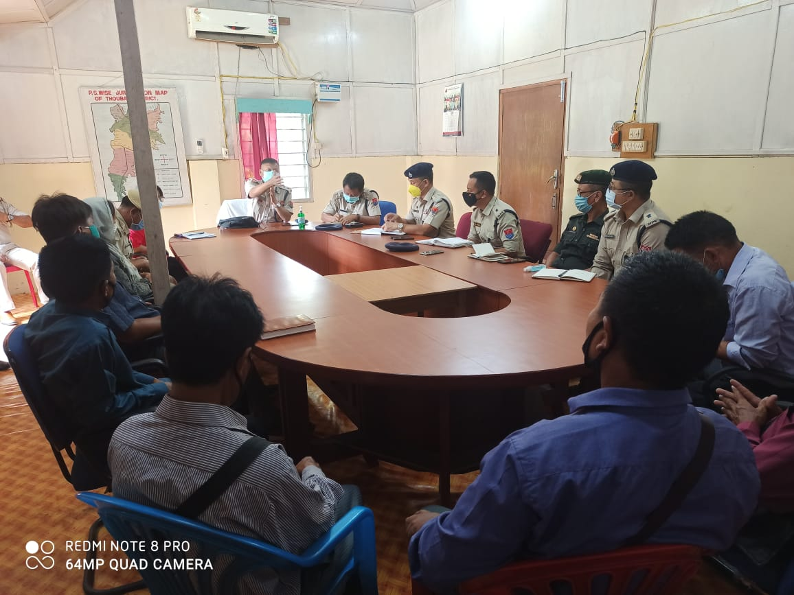 CrPC 144 imposed as Salungpham-Ringpam tension continues, meeting held