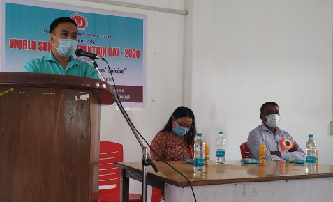 Thoubal District observes World Suicide Prevention Day