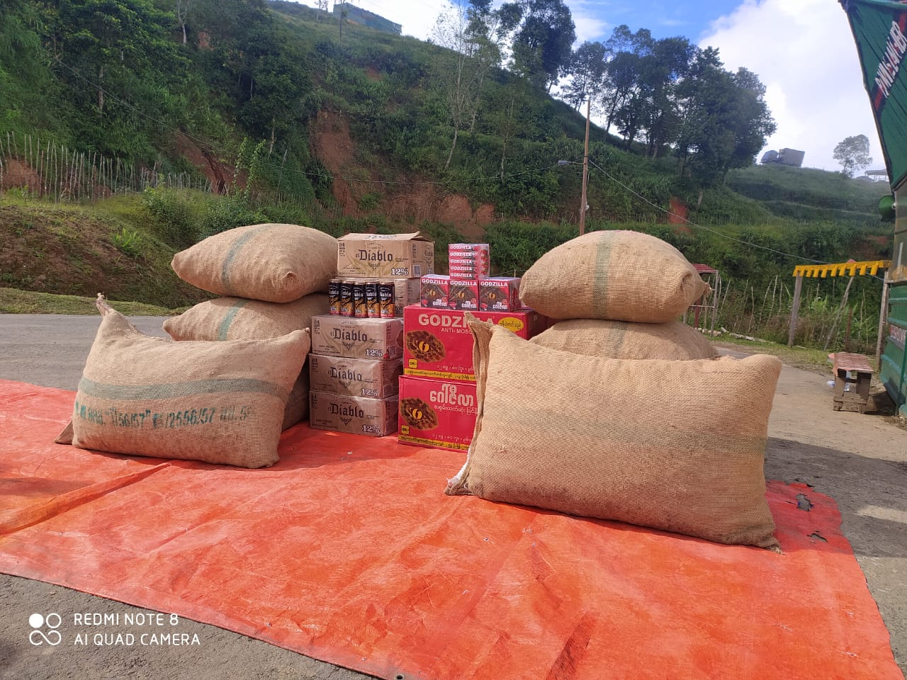 AR unearths large contraband consignment in Chandel