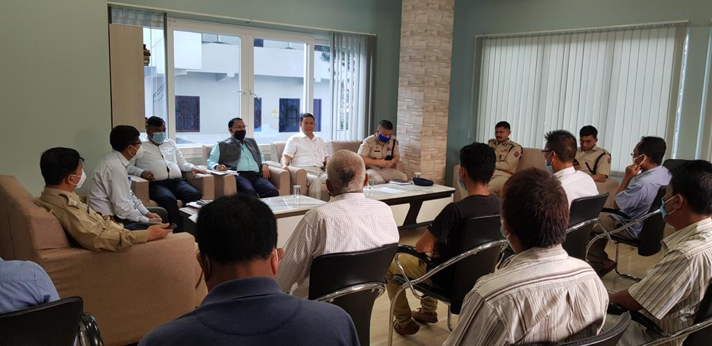 Meeting held to stop cultivation of Poppy and Ganja in hill districts