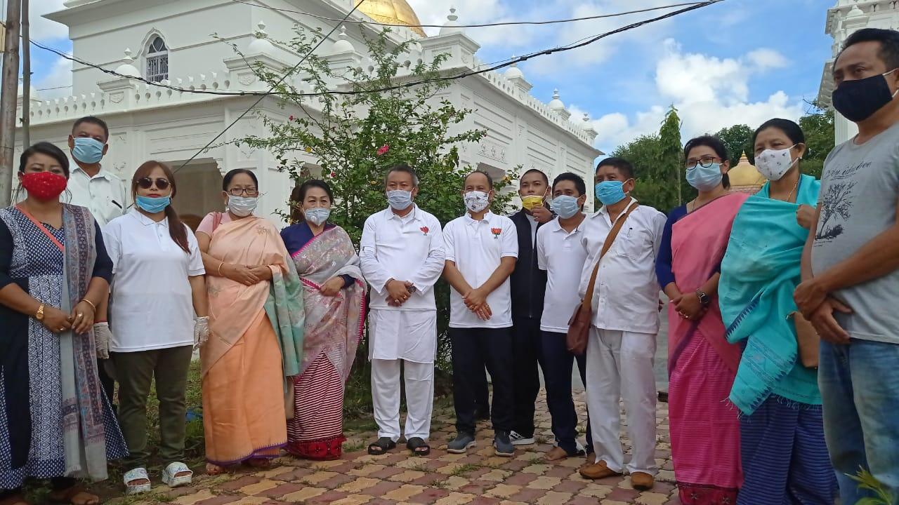 BJP Yaiskul Mandal, Imphal Central District observe Int'l Cleanliness Day