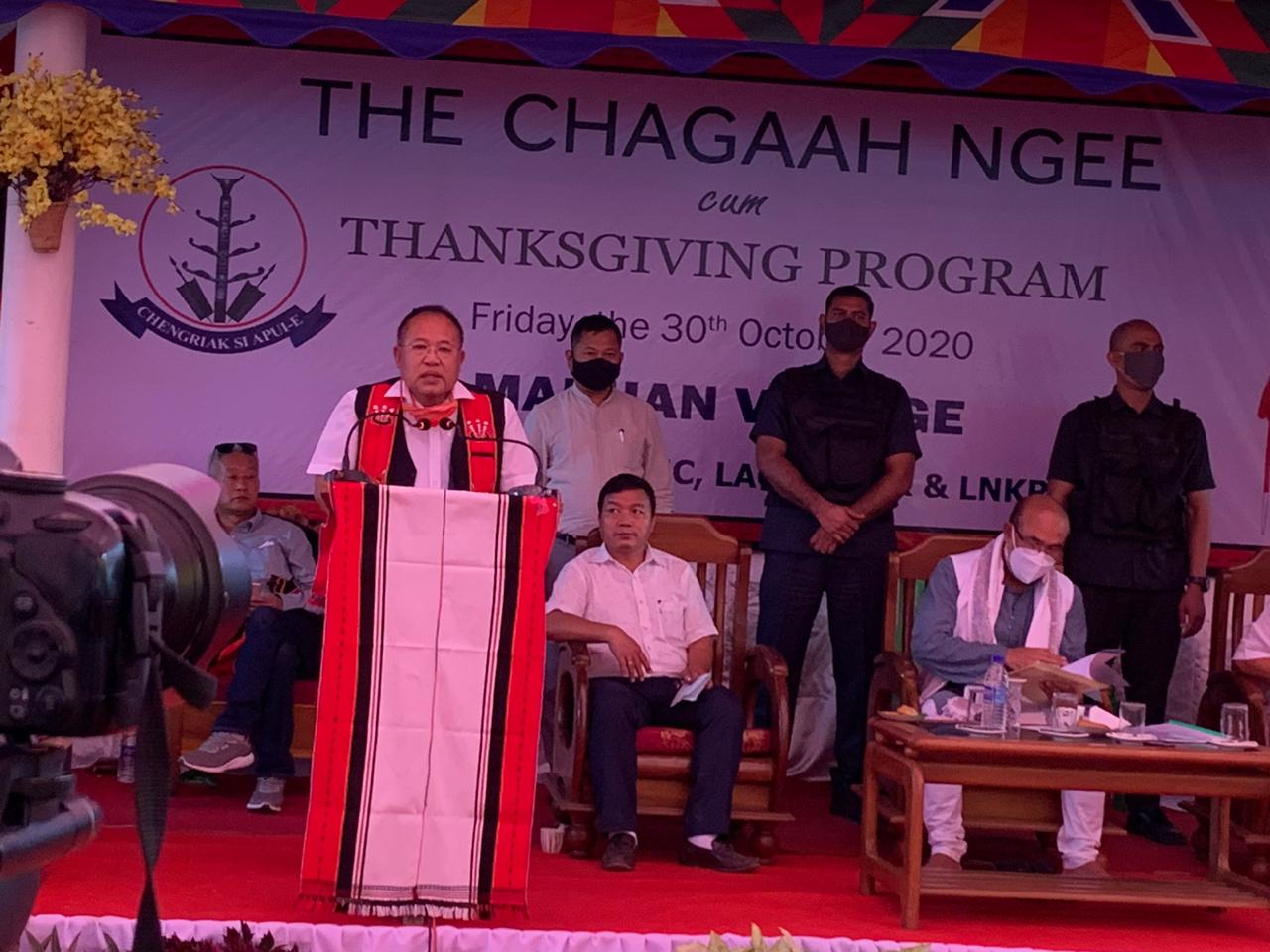 Chagaa Ngee festival to be restricted state holiday: CM