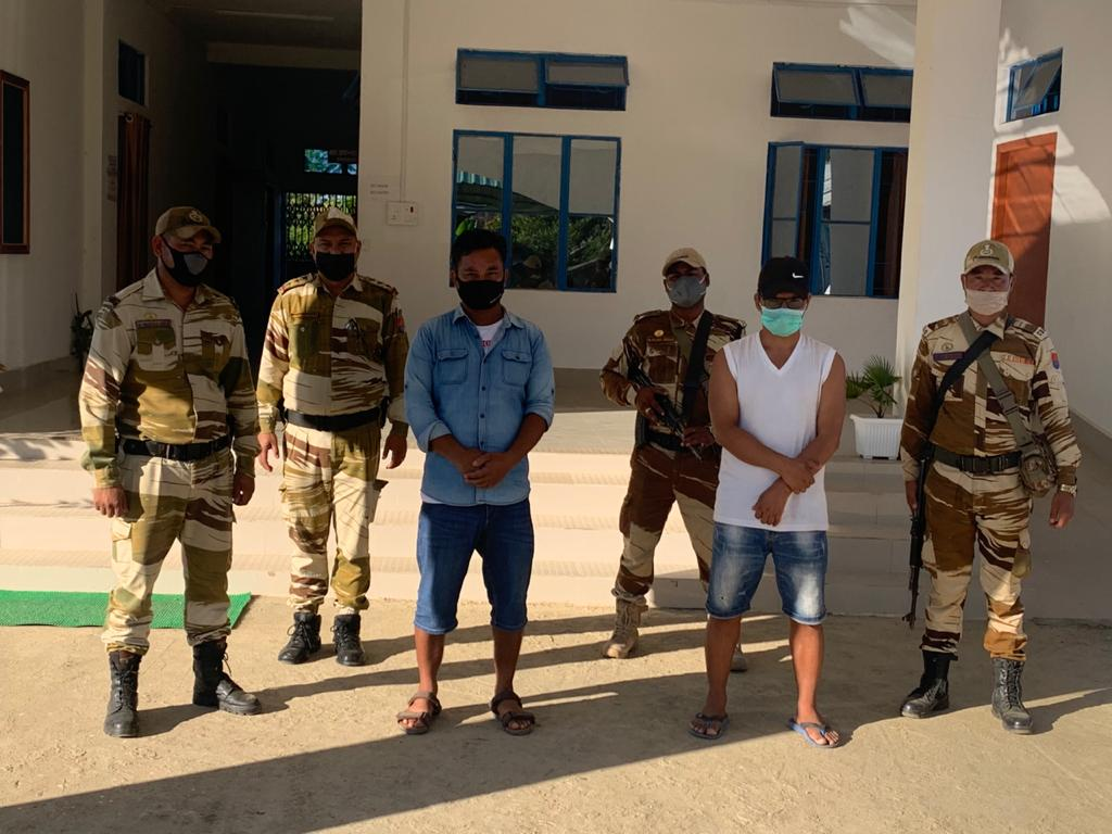Two cadres of proscribed KYKL arrested