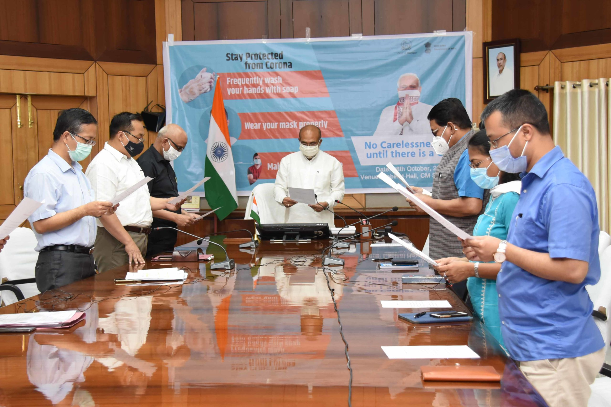 CM pledges people support for Jan Andolan campaign