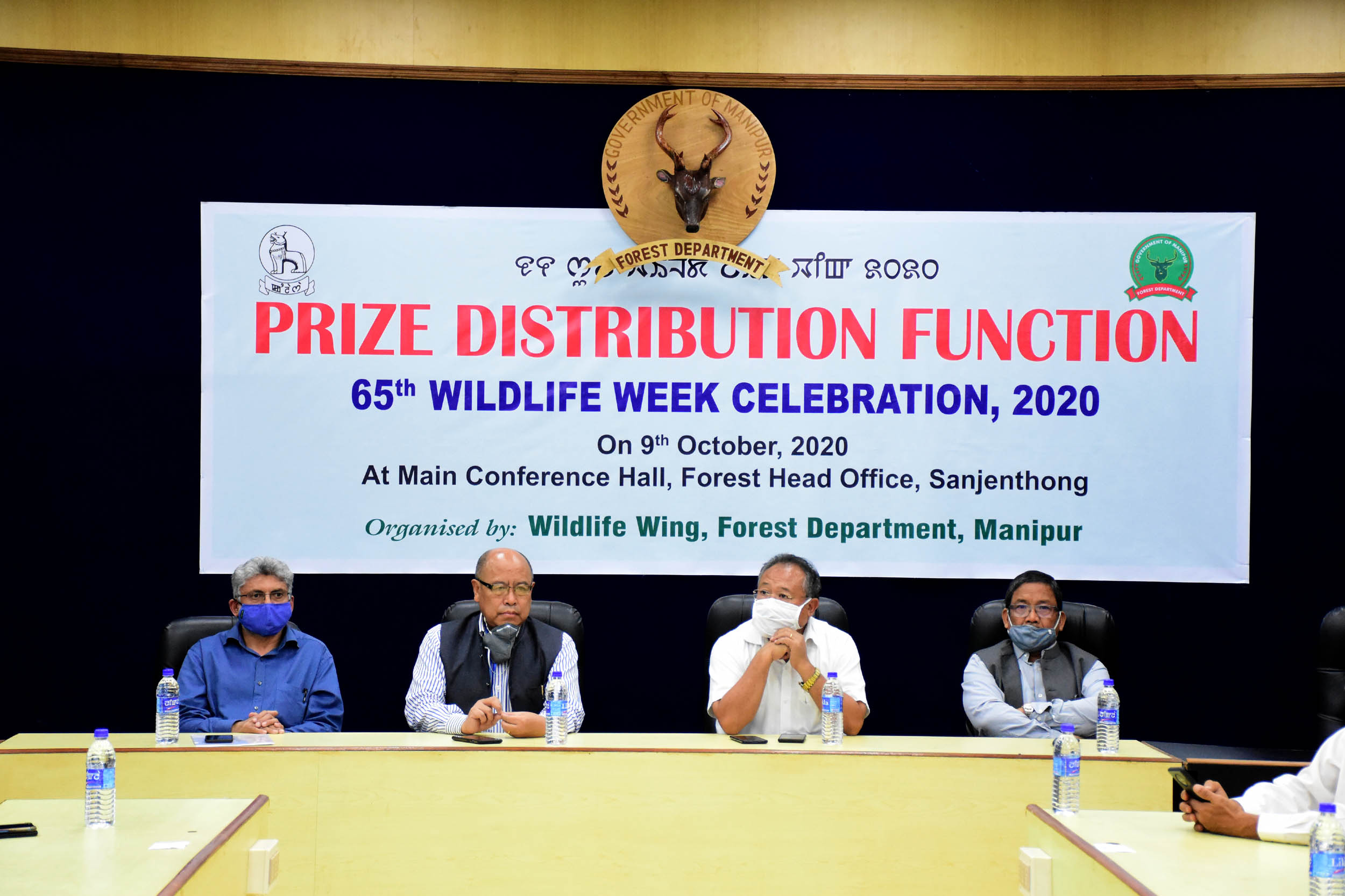 65th Wildlife Week Celebration, 2020 ends; prizes and awards distributed