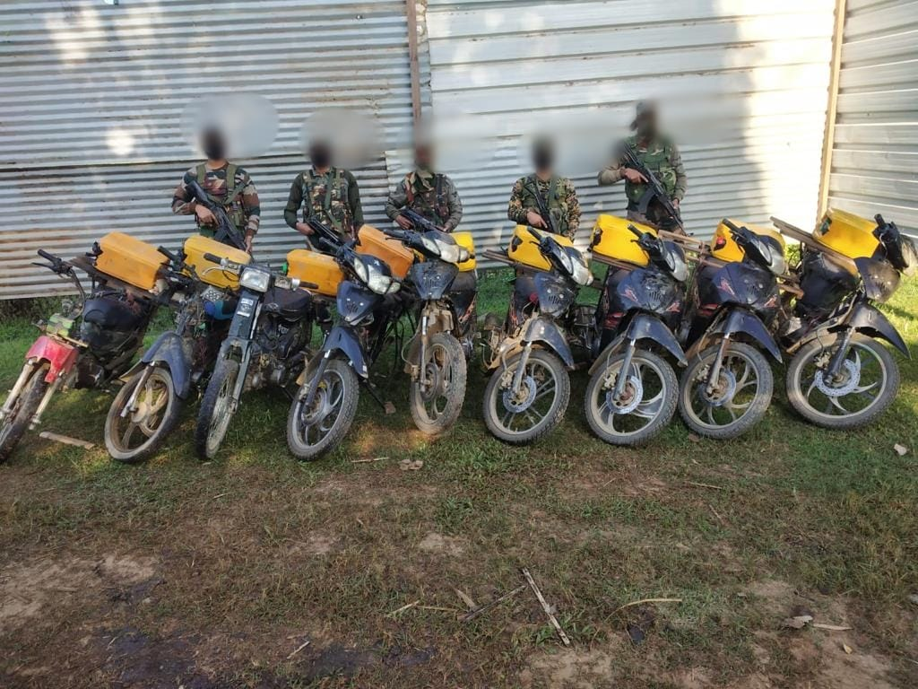 <strong>AR seizes illegal Myanmar origin vehicles in Moreh </strong>