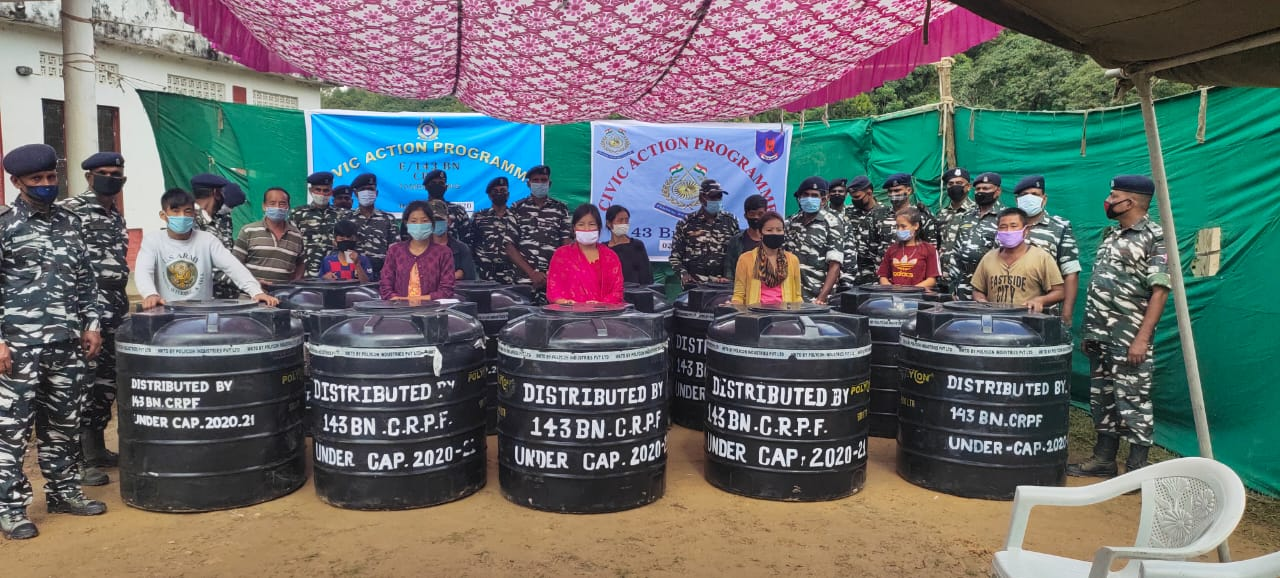 143 Bn CRPF conducts Civic Action Programme