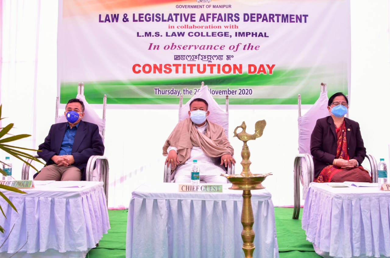 <strong>State Observes Constitution Day </strong>