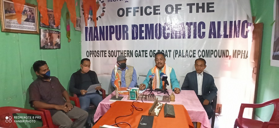 <strong>Conclusion Indo-Naga peace talks cannot affect the integrity of Manipur: M. Tombi </strong>