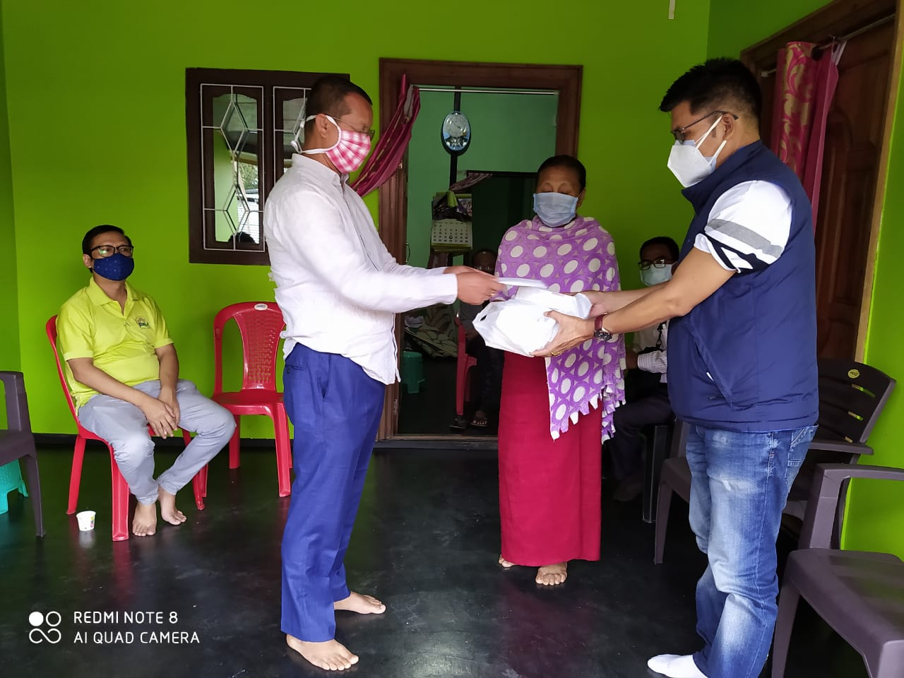Many continue to extend financial help to Scribe Koijam Dhirajit