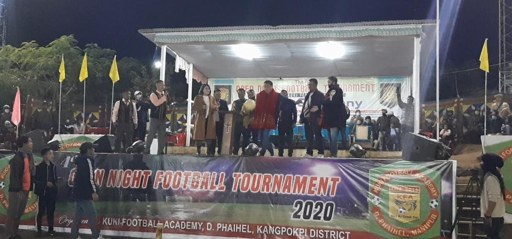KFA night tourney closing ceremony condoles demise of Diego Maradona