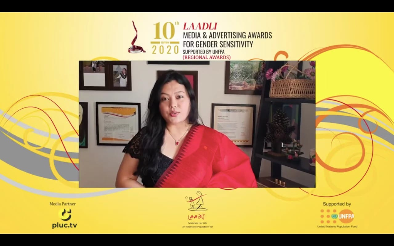 Laadli Award:Another feather in the crown for Urmila Chanam