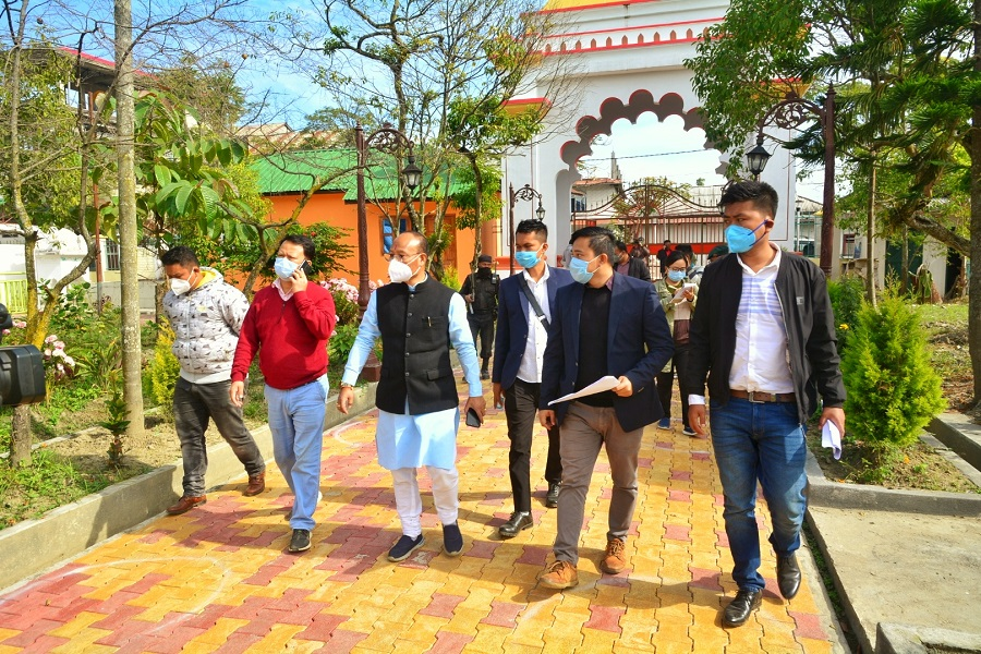 <strong>Minister Lukhoi inspects 'Development of Spiritual Circuit in Manipur' sites </strong>