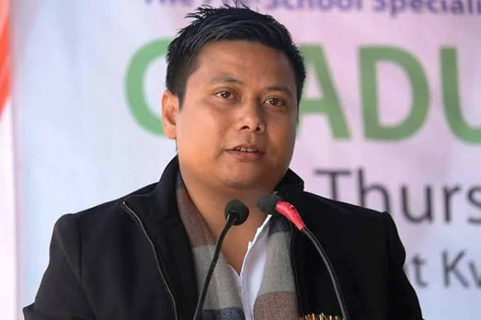 Dy Speaker Robindro tests positive