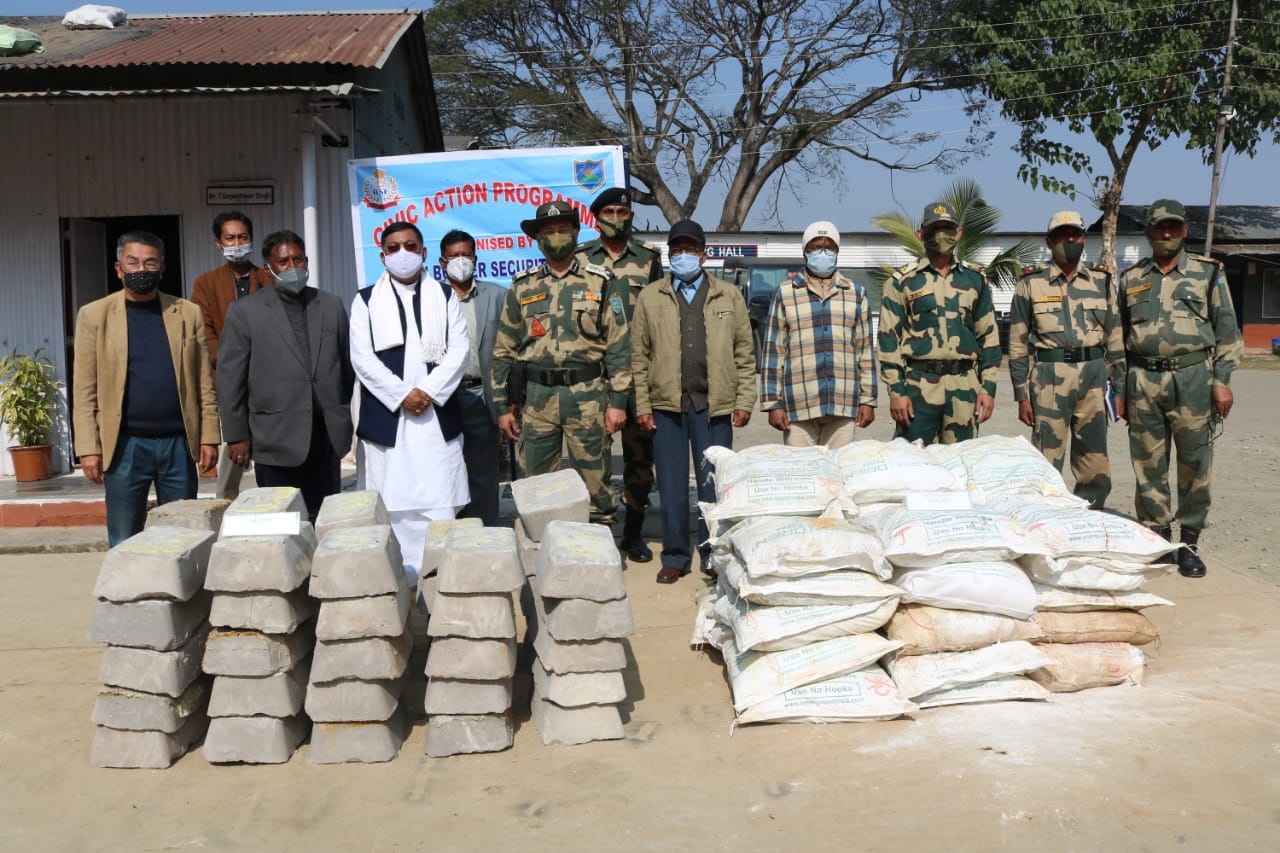 113 Bn BSF provides assistance