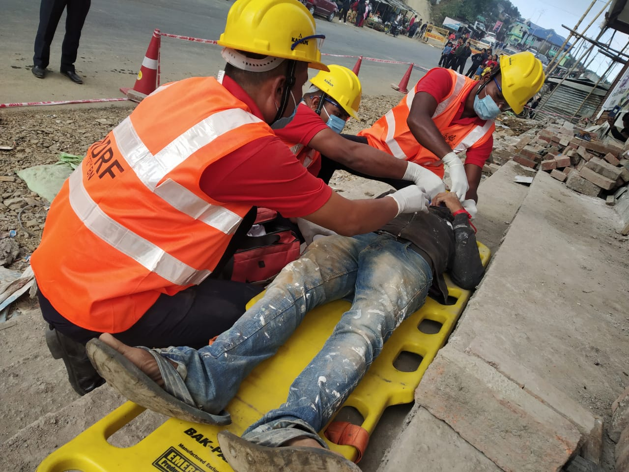 12th Bn NDRF conducts mock exercise on earthquake