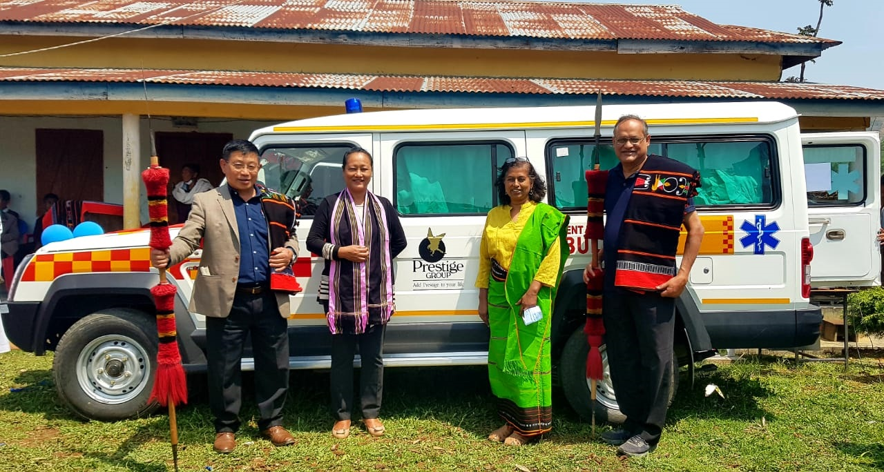 Finally Oinam PHC gets ambulance, thanks to Sunbird Trust
