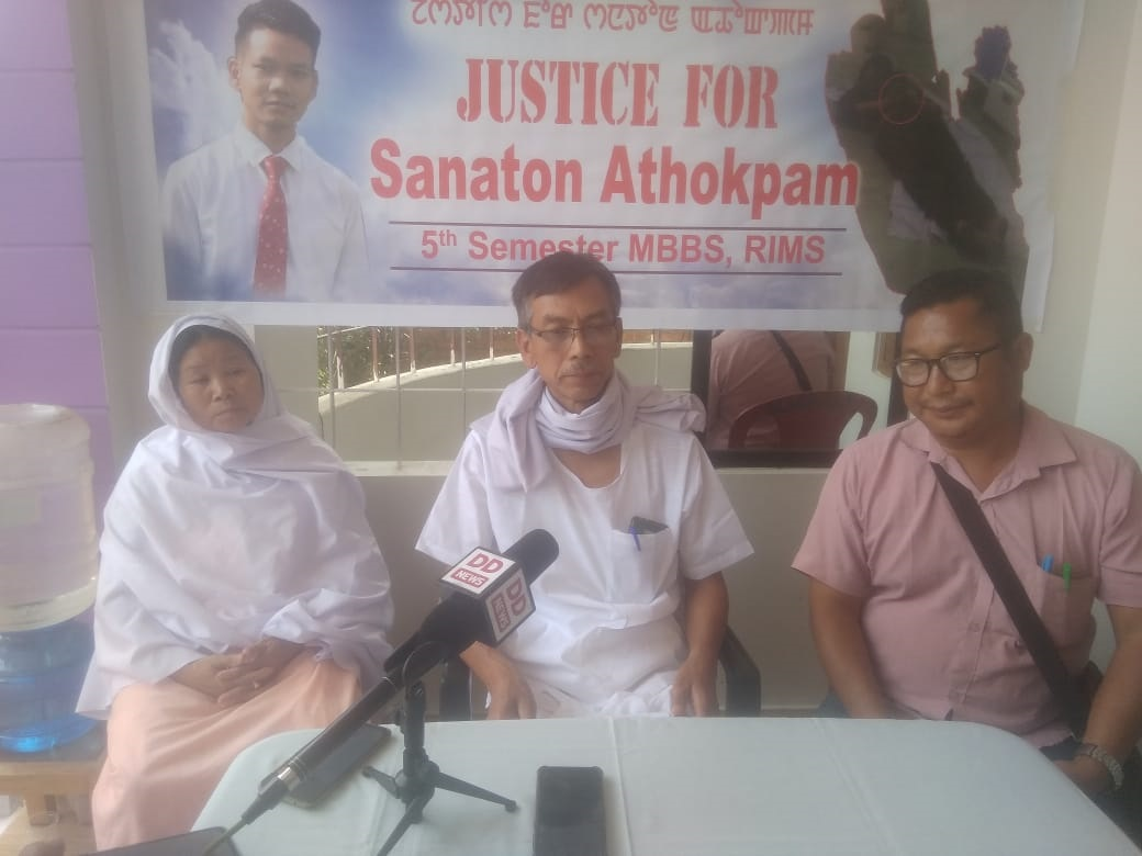 In pursuit of justice, Sanaton's father pleads for help